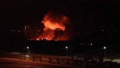 Syrian army says Israel fires rockets at military airport near Damascus