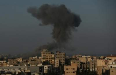 Israeli Fighter Aircrafts bomb Gaza, 'coinciding' with claimed normalization deals