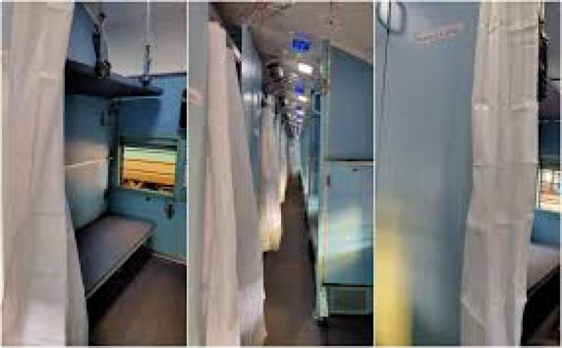 Coaches into isolation ward for COVID-19 patients