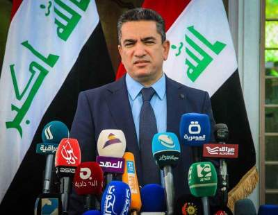 Iraq names new PM as rockets hit base hosting foreign troops